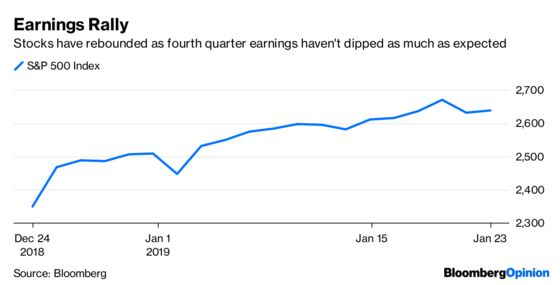Corporate Earnings Shouldn't Worry Markets Just Yet