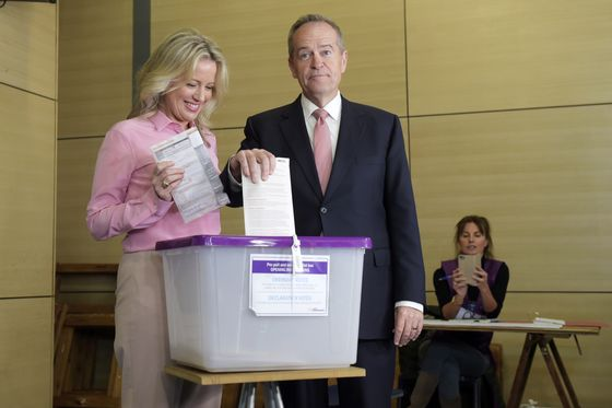Australia's Morrison Leads Conservatives to Shock Election Win