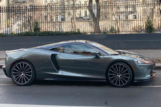 With its $210,000 GT, McLaren Bears Down on Bentley