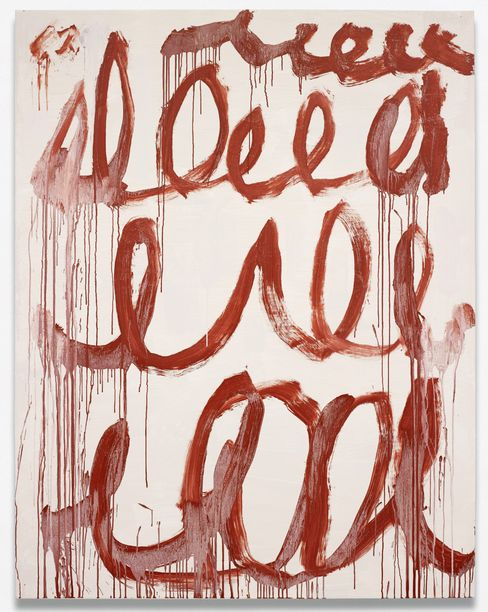 Cy Twombly's Untitled, 2006