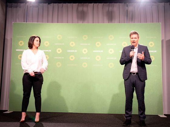 Merkel's Party Suffers in Regional Votes as Greens Win Big