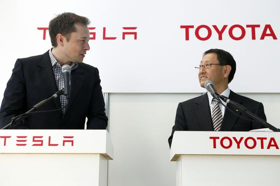 Tesla Is Worth More, But Toyota Gets Carmaking, Akio Toyoda Says