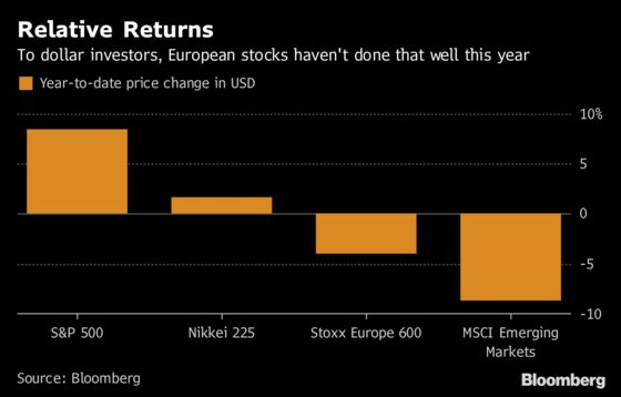 No One Loves Irrelevant, Tiring, Dull European Stocks These Days