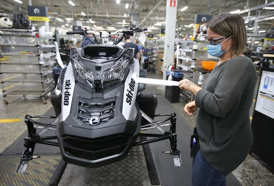 Sea-Doo Maker Seeks Growth Beyond Fan Base After Pandemic Boom