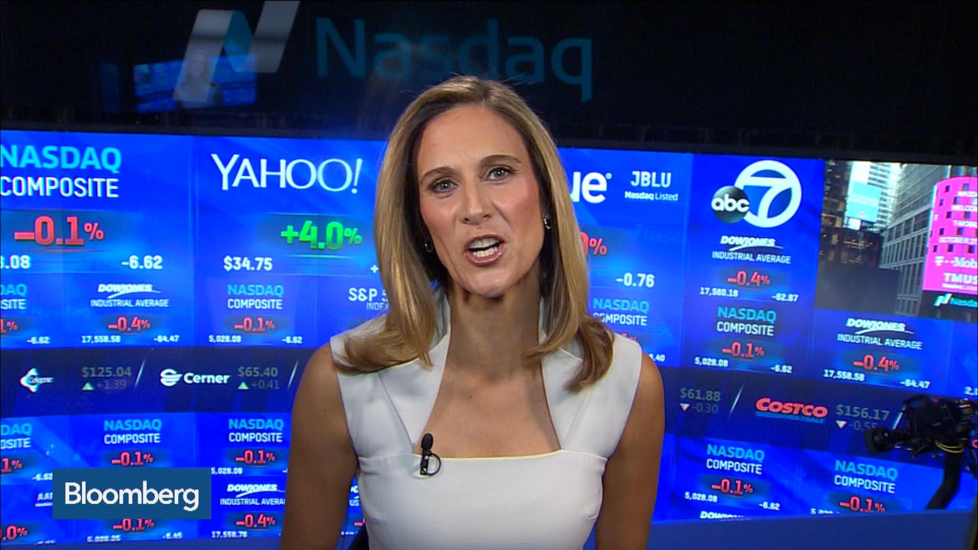 Stocks Slip Amid Earnings Durable Goods Bloomberg