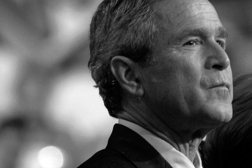 The gop is campaigning for george w bushs third term