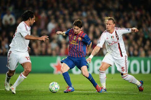 Messi Sends Barca Into Champions League Semis as Bayern Wins
