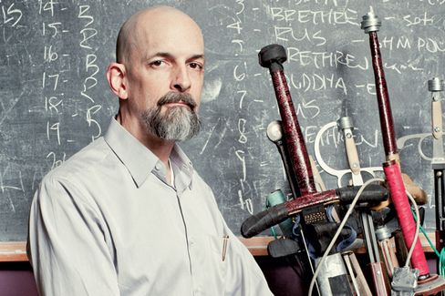 A Sword-Fighting Lesson With Neal Stephenson