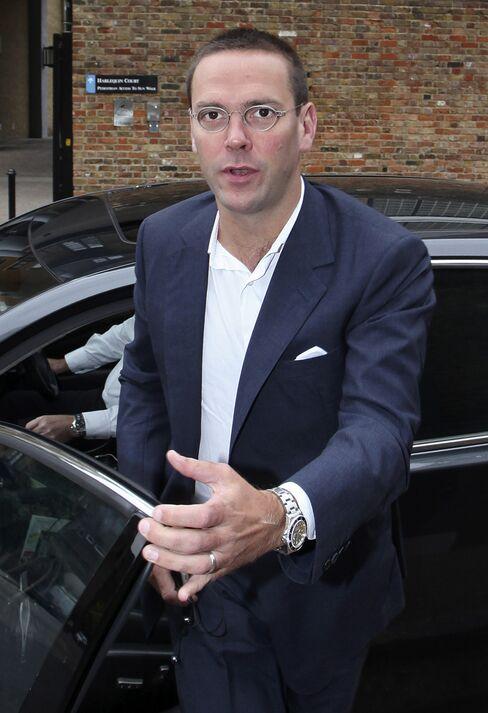 News Corp.'s Deputy Chief Operating Officer James Murdoch