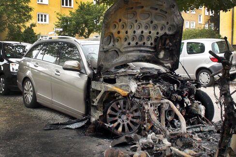 Car Burnings in Berlin