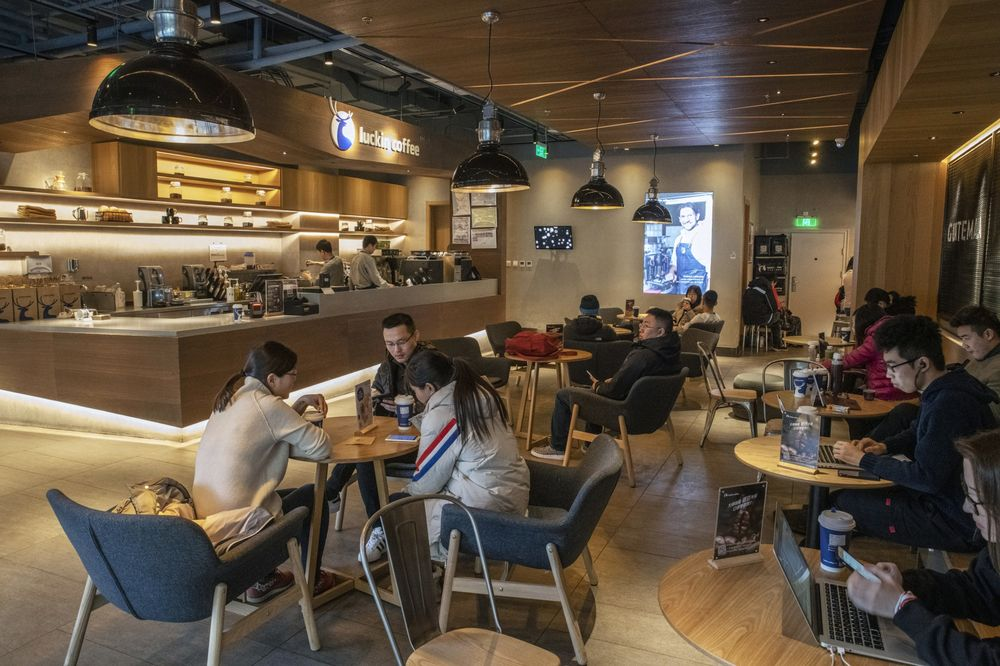 Chinas Starbucks Rival Luckin Snags 778 Million In New