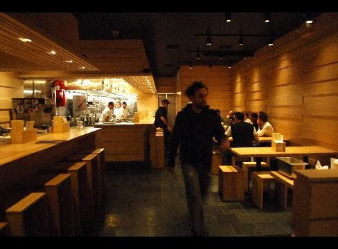 Patrons dine at Momofuku Noodle Bar