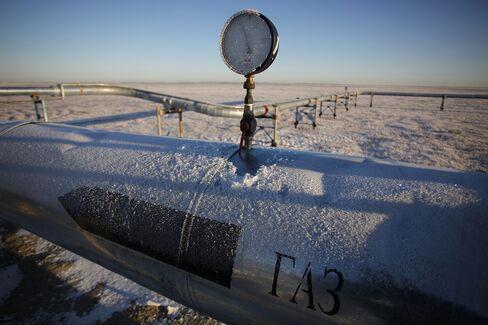 OAO Gazprom Gas Field