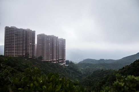 Hong Kong Parkview. Shrinking housing allowances are putting a damper on the luxury rental market.