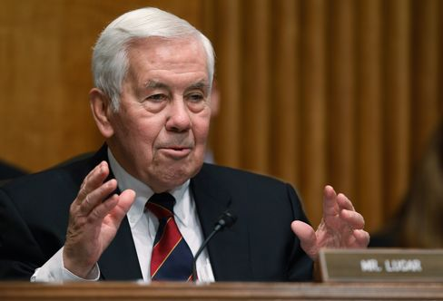 Indiana Senator Richard Lugar