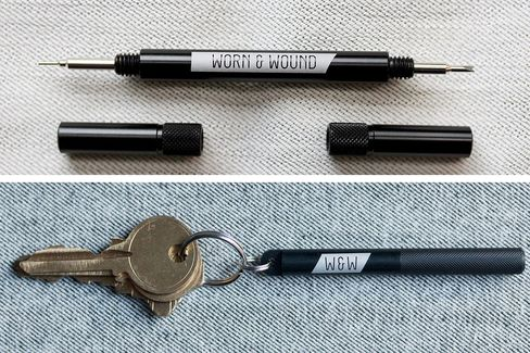 One tool for the office, another for on-the-go swaps.
