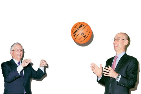 He's Got Next: David Stern Passes the NBA to Adam Silver