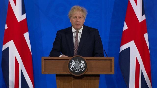 U.K. on Track to Ease Covid Lockdown, Johnson Says