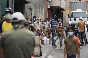Venezuelans Line Up For Fuel And Water As Coronavirus Cases Slowly Rise