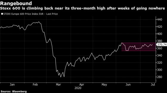 European Stocks Jump to One-Month High on Vaccine Optimism