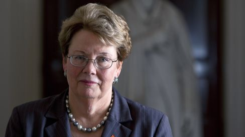 University of Virginia President Teresa A. Sullivan