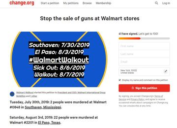 Walmart Worker Claims Retaliation After Organizing Gun Protest