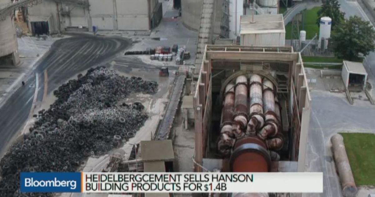 HeidelbergCement Sells Building Products Unit for $1 4B