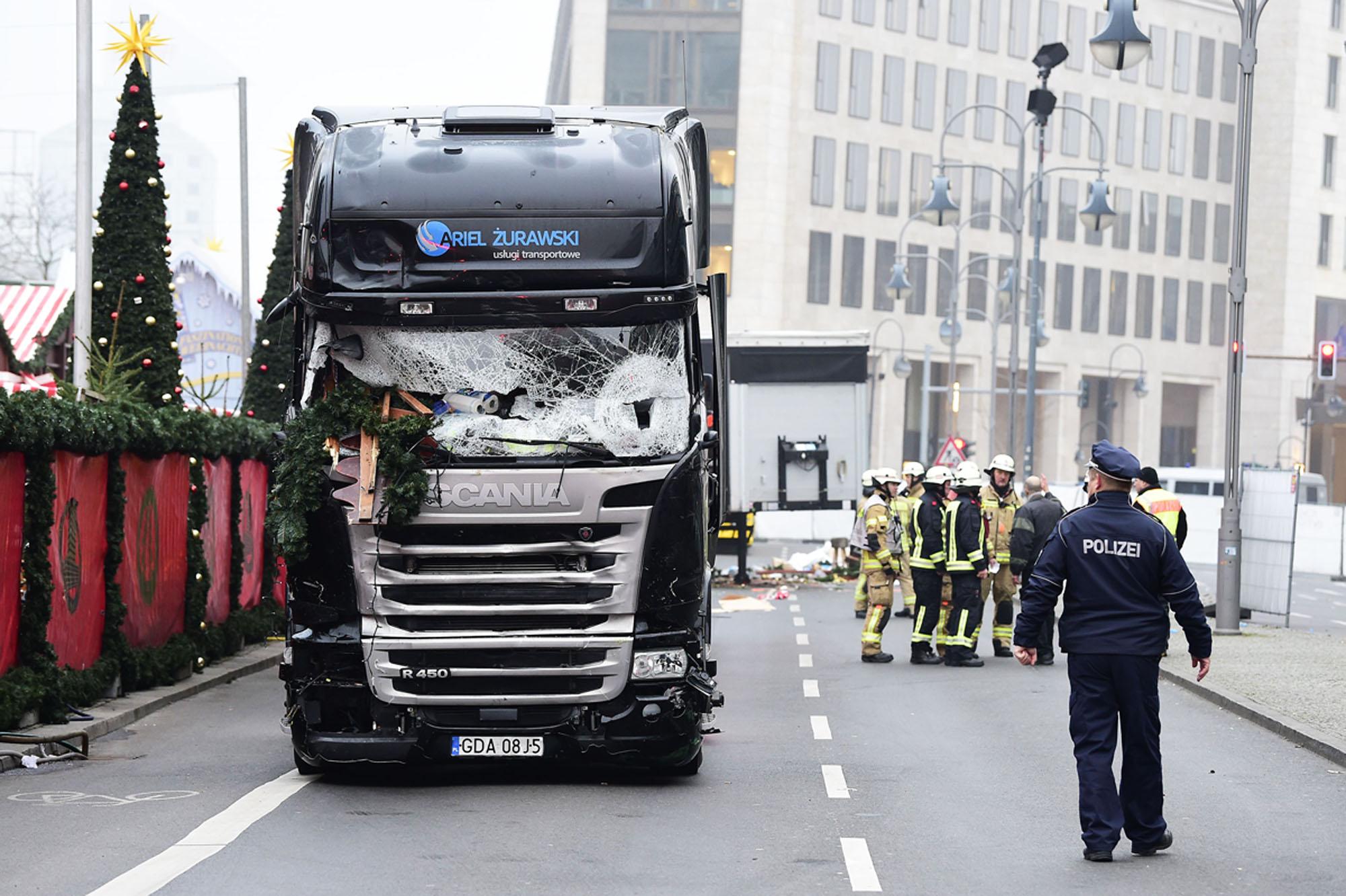 Berlin …terror attack?