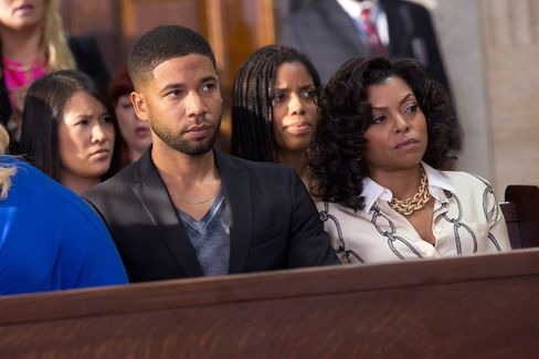 """Jussie Smollett as Jamal Lyon and Taraji P. Henson as Cookie Lyon in the """"The Devils Are Here"""" Season Two premiere episode of 'Empire' on FOX."""