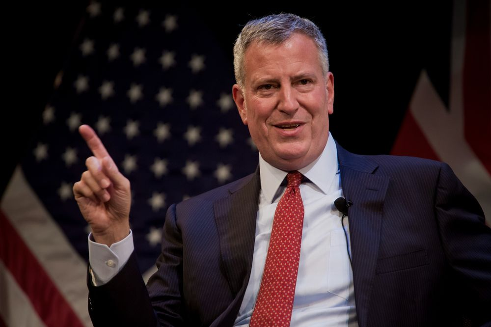 New York Mayor Wants to Bring on 'Death Knell' of Oil Industry
