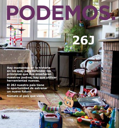 Podemos election prospectus cover