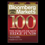 Bloomberg Markets magazine cover, February 2011 issue