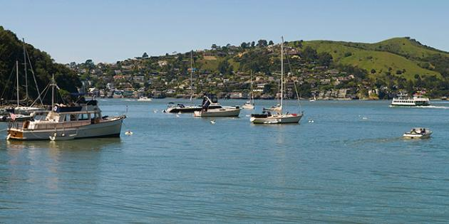 No. 25 Most Expensive Small Town: Tiburon, Calif.
