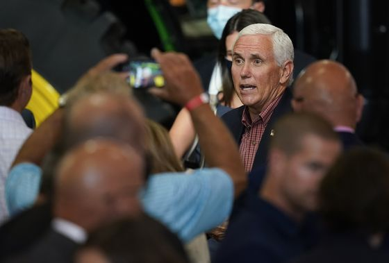 Pence Courts Farm Voters Whose Trump Loyalty Is Starting to Fray