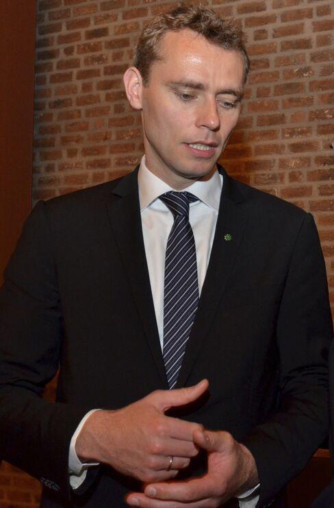 Norway's Oil Minister Ola Borten Moe