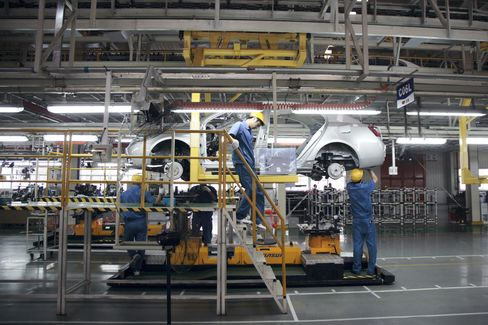 Chinese Manufacturing Index Is Near 29-Month Low in August