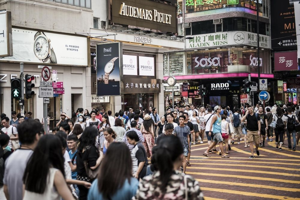 Shop Rents Tumble on H.K. Street That Was World's Priciest