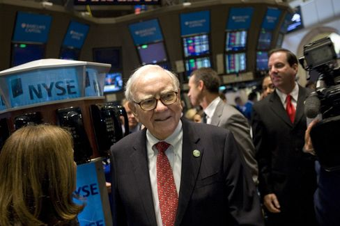 Buffett NYSE Bid Reinforcing Confidence as S&P 500 Nears Record