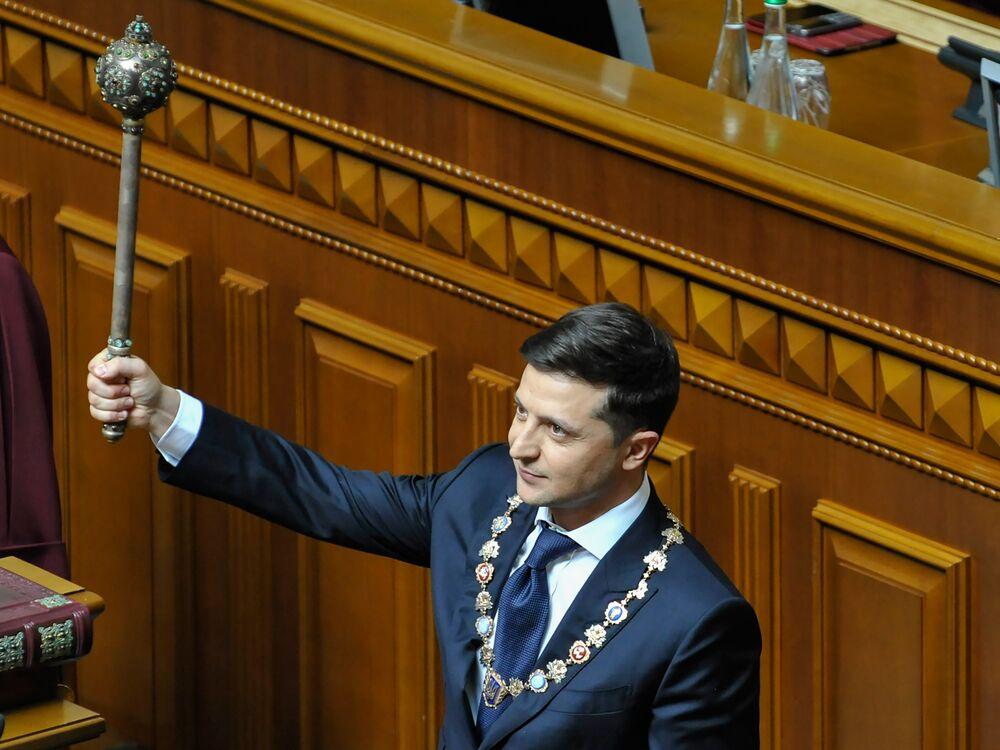 Ukraine's New President Raises Eyebrows as He Picks Top Staff