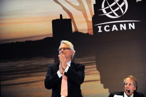 ICANN CEO Rod Beckstrom