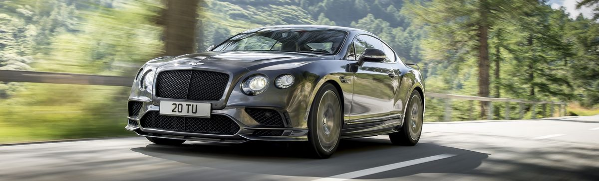 Bentleys New 700 Hp Continental Supersports Is Its Fastest Car Ever
