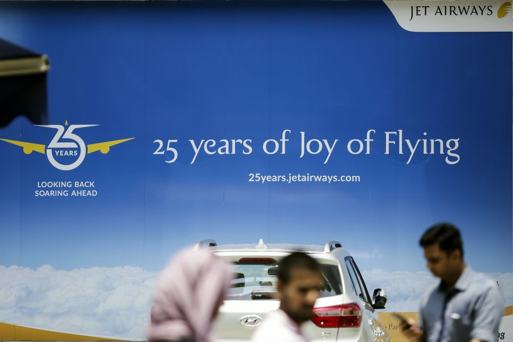 Jet Airways Waits for a Buyer as Rivals Muscle in on Territory