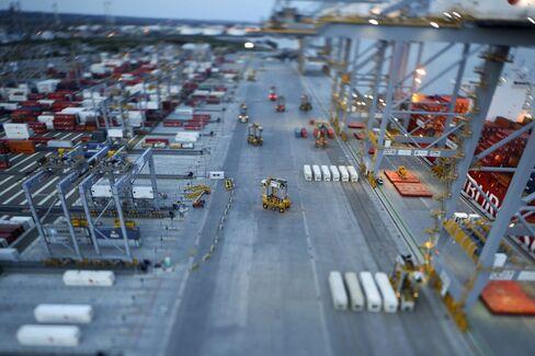 Dubai World's DP World Ltd. Port in Stanford-le-Hope