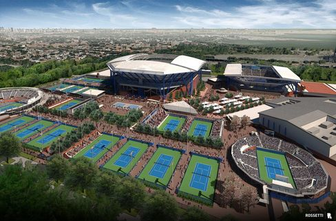 U.S. Tennis Open Seeks Muni Investors for Ashe Retractable Roof