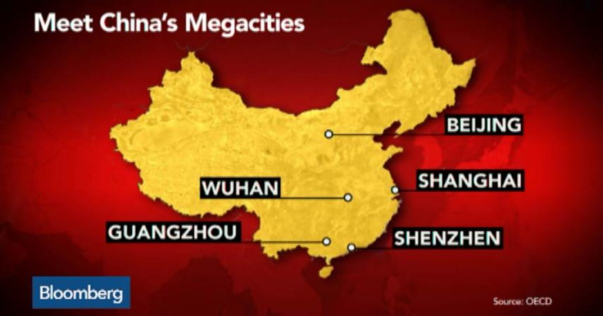 How Many Megacities Does China Have Bloomberg