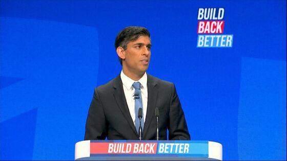 Goldman Says Rishi Sunak Is Still Worried About U.K. Unemployment Jump