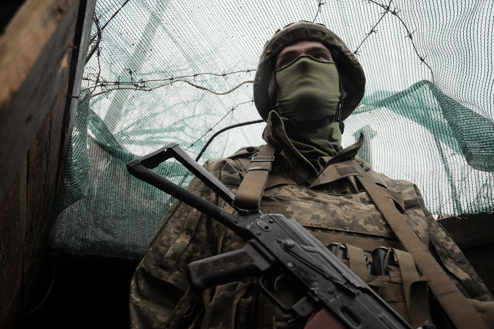 Ukraine's armed forces could use some more help.