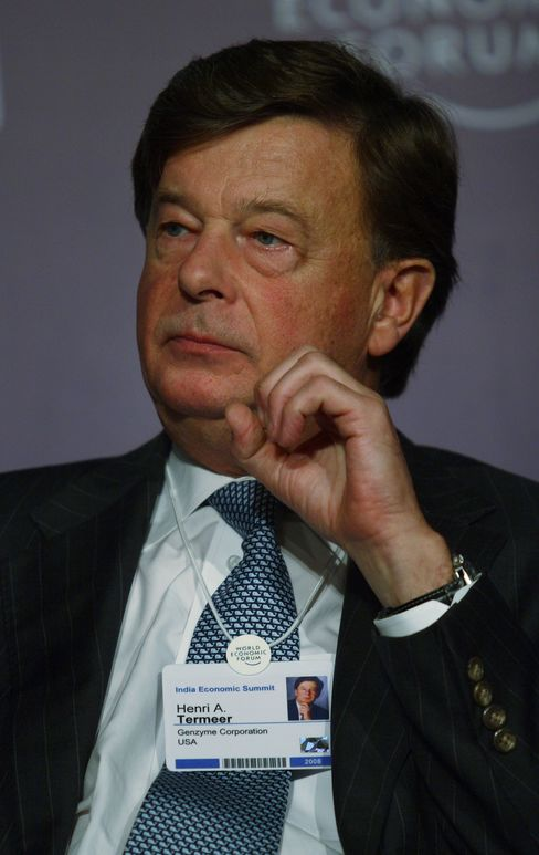 Henri A. Termeer, CEO of Genzyme Corporation