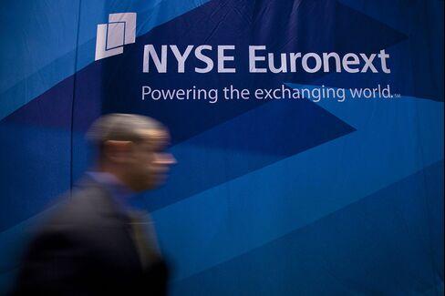 NYSE First-Quarter Profit Falls 44%