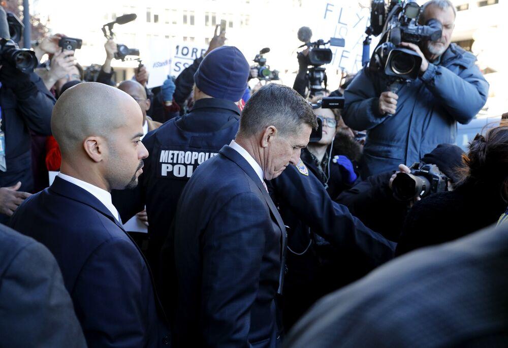 Flynn's Risk of Prison Resurfaces